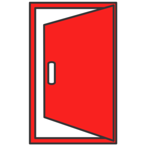 Icon porte sécurisé